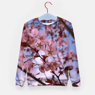 Miniatur Cherry blossom 2 Kid's sweater, Live Heroes