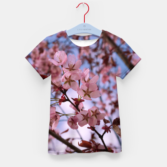 Thumbnail image of Cherry blossom 2 Kid's t-shirt, Live Heroes