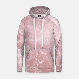 Thumbnail image of Enigmatic Blush Pink Marble #1 #decor #art Kapuzenpullover, Live Heroes