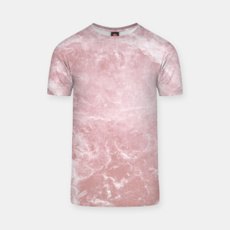 Thumbnail image of Enigmatic Blush Pink Marble #1 #decor #art T-Shirt, Live Heroes