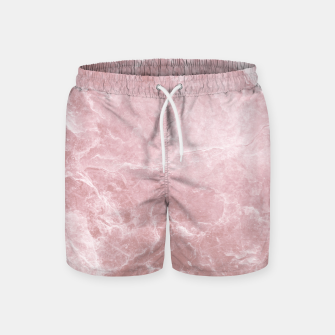 Thumbnail image of Enigmatic Blush Pink Marble #1 #decor #art Badeshorts, Live Heroes