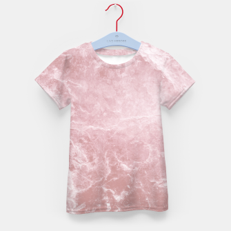 Thumbnail image of Enigmatic Blush Pink Marble #1 #decor #art T-Shirt für kinder, Live Heroes