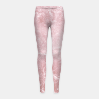 Thumbnail image of Enigmatic Blush Pink Marble #1 #decor #art Kinder-Leggins, Live Heroes