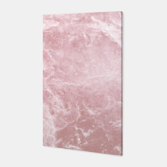 Thumbnail image of Enigmatic Blush Pink Marble #1 #decor #art Canvas, Live Heroes
