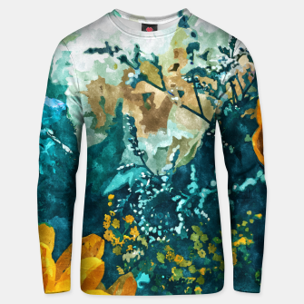 Thumbnail image of Dark & Floral Unisex sweater, Live Heroes