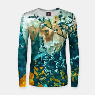 Thumbnail image of Dark & Floral Women sweater, Live Heroes