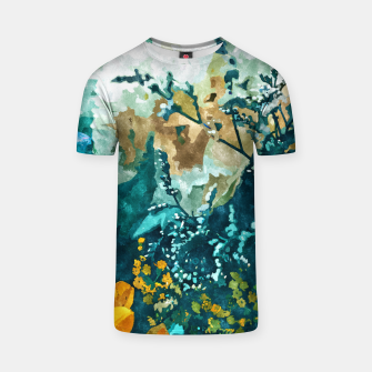 Thumbnail image of Dark & Floral T-shirt, Live Heroes
