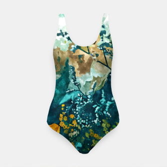 Dark & Floral Swimsuit thumbnail image