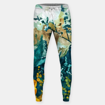 Dark & Floral Sweatpants thumbnail image