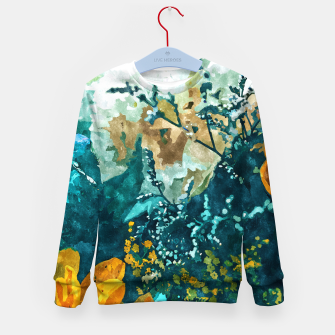 Dark & Floral Kid's sweater thumbnail image