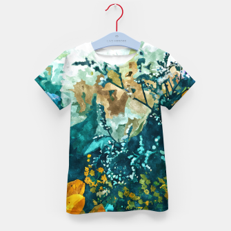 Thumbnail image of Dark & Floral Kid's t-shirt, Live Heroes