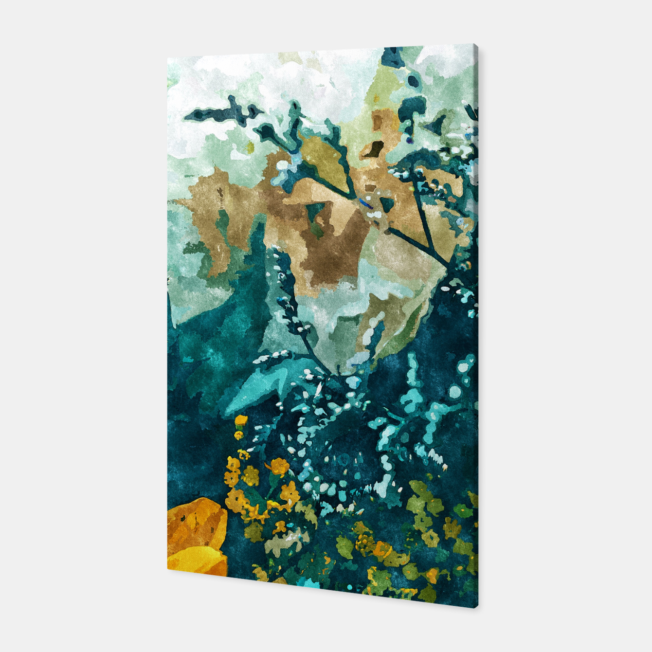 Image of Dark & Floral Canvas - Live Heroes