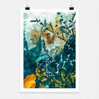 Thumbnail image of Dark & Floral Poster, Live Heroes