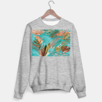 Thumbnail image of Tropical Foliage 08 Sweater regular, Live Heroes