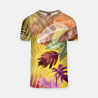 Thumbnail image of Tropical Foliage 07 T-shirt, Live Heroes