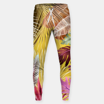 Thumbnail image of Tropical Foliage 07 Sweatpants, Live Heroes