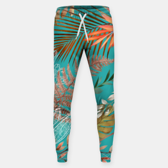 Thumbnail image of Tropical Foliage 08 Sweatpants, Live Heroes