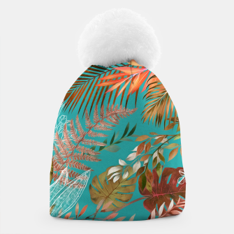 Thumbnail image of Tropical Foliage 08 Beanie, Live Heroes