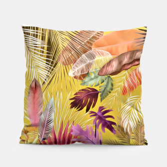 Thumbnail image of Tropical Foliage 07 Pillow, Live Heroes