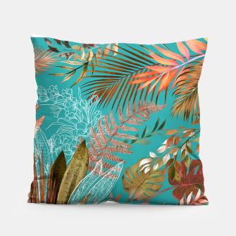 Thumbnail image of Tropical Foliage 08 Pillow, Live Heroes