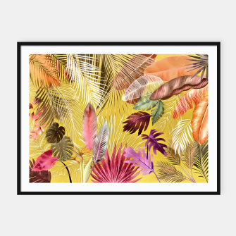 Thumbnail image of Tropical Foliage 07 Framed poster, Live Heroes