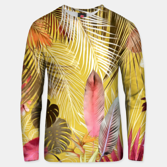Thumbnail image of Tropical Foliage 07 Unisex sweater, Live Heroes