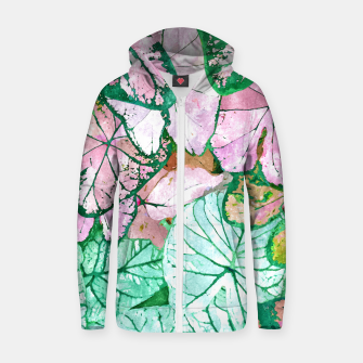 Thumbnail image of Rain & Nature Zip up hoodie, Live Heroes