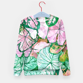 Thumbnail image of Rain & Nature Kid's sweater, Live Heroes