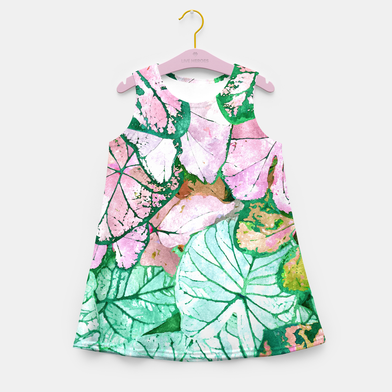 Image of Rain & Nature Girl's summer dress - Live Heroes