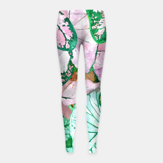 Thumbnail image of Rain & Nature Girl's leggings, Live Heroes