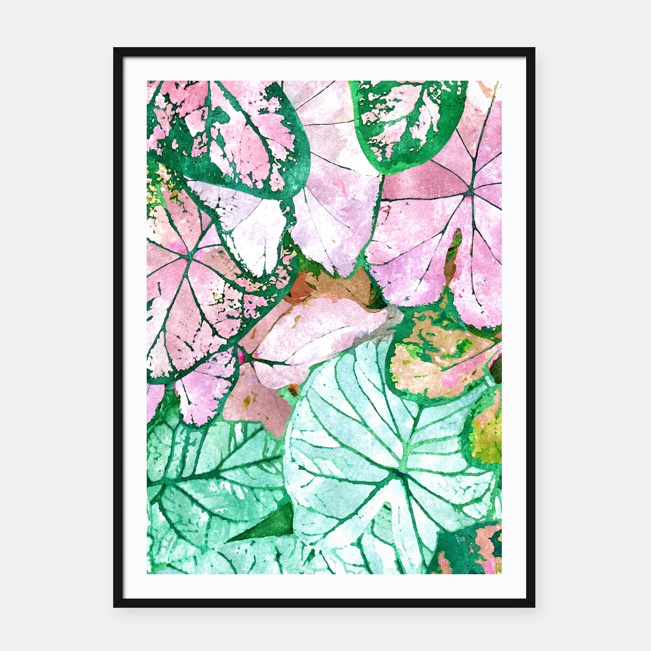 Image of Rain & Nature Framed poster - Live Heroes