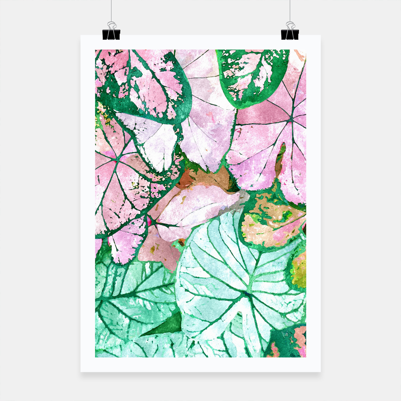 Image of Rain & Nature Poster - Live Heroes