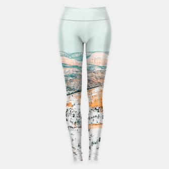 Thumbnail image of Travel Often Leggings, Live Heroes
