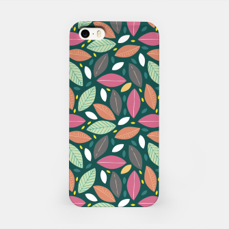 Thumbnail image of Leaves pattern Carcasa por Iphone, Live Heroes