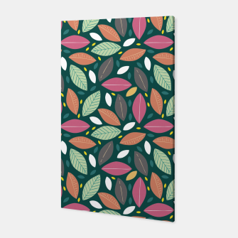 Thumbnail image of Leaves pattern Canvas, Live Heroes