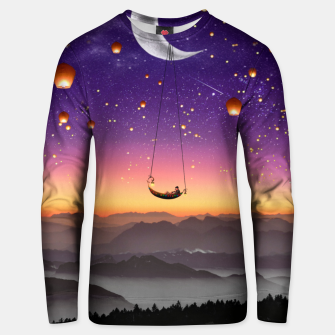 Thumbnail image of Moon Floaters Unisex sweater, Live Heroes