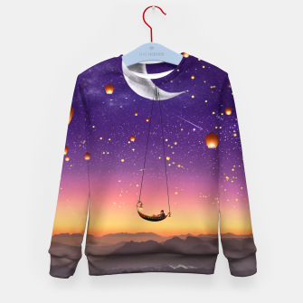 Thumbnail image of Moon Floaters Kid's sweater, Live Heroes
