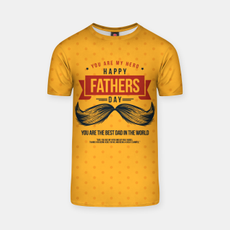 Miniatur Father's Day, My Daddy is my SuperHero T-shirt, Live Heroes
