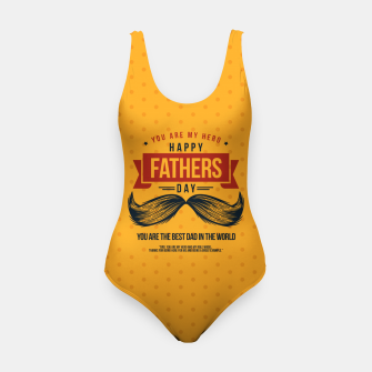 Miniatur Father's Day, My Daddy is my SuperHero Swimsuit, Live Heroes