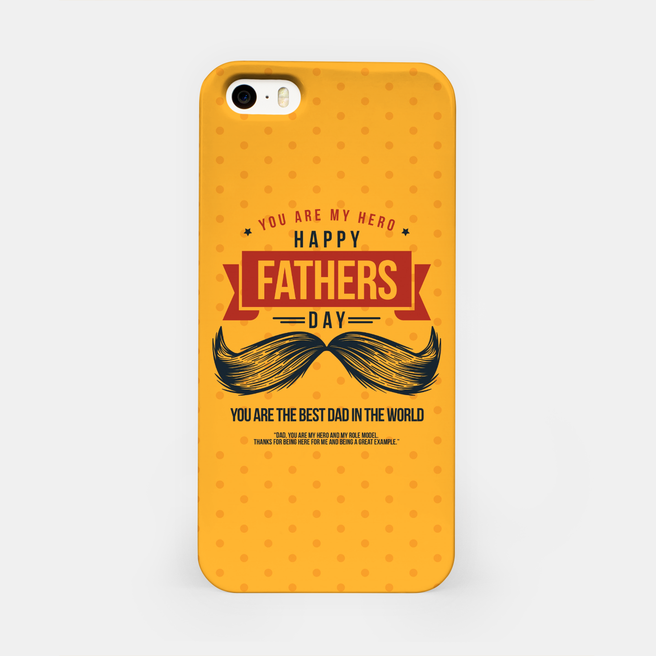 Image of Father's Day, My Daddy is my SuperHero iPhone Case - Live Heroes