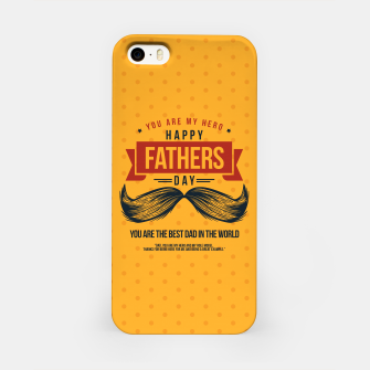 Miniatur Father's Day, My Daddy is my SuperHero iPhone Case, Live Heroes