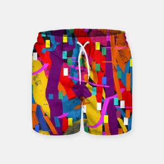 Miniatur CONFETTI NIGHTS 2A Swim Shorts, Live Heroes