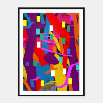 Miniatur CONFETTI NIGHTS 2A Framed poster, Live Heroes
