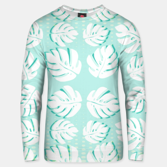 Thumbnail image of Tropical patterns Unisex sweater, Live Heroes