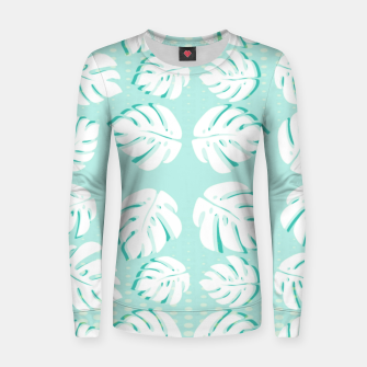 Thumbnail image of Tropical patterns Women sweater, Live Heroes