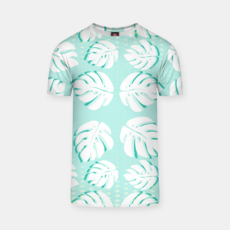 Thumbnail image of Tropical patterns T-shirt, Live Heroes