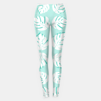 Thumbnail image of Tropical patterns Leggings, Live Heroes