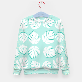 Thumbnail image of Tropical patterns Kid's sweater, Live Heroes
