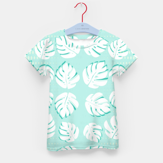 Thumbnail image of Tropical patterns Kid's t-shirt, Live Heroes