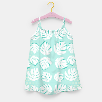 Thumbnail image of Tropical patterns Girl's dress, Live Heroes